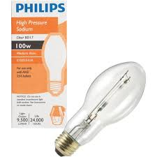 buy philips bd17 medium high pressure sodium high intensity light bulb