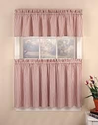 Kitchen Curtain Ideas 2017 by Kitchen Tiered Kohls Kitchen Curtains In White For Kitchen