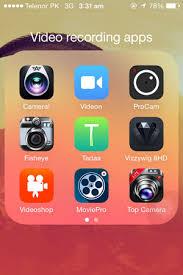 Top 10 Best iPhone Video Recording Apps