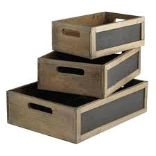 Wooden Milk Crates Blackboard Long Where Can I Get For Free