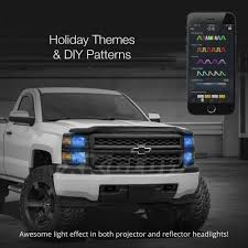 XKGlow® - Kia Soul 2017 XKchrome App Control RGB LED Headlight ... Xkglow Kia Soul 2017 Xkchrome App Control Rgb Led Headlight Truck Strobe Light Kit Plasmaglow 24 Lights For Trucks Jeep Suv Cars 12v Universal Amber Minibrights 3 Watt Amber Markerstrobe Lights In Peterbilt Tow Ford Will Offer On Fleet F150s Car Pro Javanese Runner Full Of Strobe By Jetbuslovers On Deviantart Xyivyg 54 Emergency Vehicle Bars Warning Deck Dash 4 Led Xprite 315 28 7 Modes Traffic Advisor Best Price 1 White Styling Wireless Kits Parks Superior Sales Funeral Specialists
