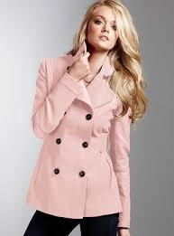 Pink Pea Coats JacketIn
