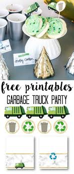 98 Garbage Truck Party Supplies Birthday At Home With Ashley