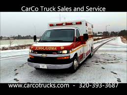 2014 Chevrolet McCoy Miller Ambulance For Sale By CarCo Truck - YouTube