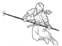Japanese Ninja Coloring Pages