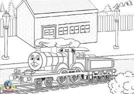 Printable Thomas Train Coloring Pages