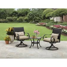 Walmart Patio Tables Only by Better Homes And Gardens Englewood Heights Ii Aluminum 3 Piece