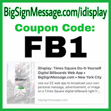 Facebook User Coupon Code For #iDisplay... - Big Sign ... Help Tops Online Home Page Mass Coupon Submitter Affplaybook Review Discount Code September2019 Vidrepurposer 5 Off Promo Deal Reability Study Which Is The Best Site Get Honey Microsoft Store How To Distribute Ecommerce Coupons With Capture Bars Petbox January 2019 Subscription 50 Bluehost 63 Off My Special Secret Tip Lyft Your First Ride Free Jeremy8096 Tutorial Create A Codes Promotion 100 Airbnb Coupon Code Use Tips September