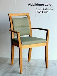 esszimmerstuhl aruna 52x89x50cm rustikale asteiche mit polster casade mobila