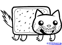 How To Draw Zombie Nyan Cat Step 7