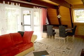 wohnzimmer essecke ferienhäuser im alten land an der elbe