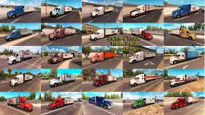 Painted Truck And Trailers Traffic Pack By Jazzycat V 1.2 | American ... Improved Truck Physics 21 American Truck Simulator Mods Triple Diamond And Trailer Repair Paradise Sioux Falls North And Trucks Accsories Modification Image Gallery Scs Softwares Blog Trailers Custom Leasing Diff Lock Lift Axle Test 16 Ertl 3605 Texaco Tanker Serial 3069 Runaway Hobby Dark Blue Semi With Storage Container Stock Photo Illustration I5487380 At Featurepics