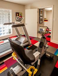 Home Depot Carpet Replacement by Home Depot Carpet Installation For A Contemporary Home Gym With A