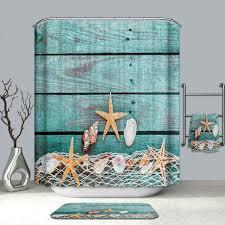 3tlg badezimmer boden anti rutsch starfish dusche matte wc