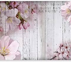 murando fototapete blumen 400x280 cm vlies tapeten wandtapete moderne wanddeko design wand dekoration wohnzimmer schlafzimmer büro flur blume rosa
