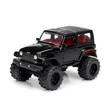 Jeep: Wrangler (2014) - Preto - Just Trucks - 1:64 - Jada Toys