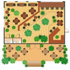 How To Make A Floor Plan On The Computer by Restaurant Floor Plan Software