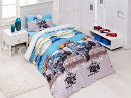 100 Boys Truck Bedding Amazoncom 100 Cotton Off Road Wild Cars Set