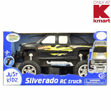 100 Rc Truck Stop Check Out Just Kidz Silverado RC Black ShopYourWay
