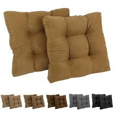 100 The Gripper Twill 2 Pc Rocking Chair Pad Set Shop Blazing Needles 19inch Square Microsuede Cushion Of