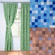 Ebay Curtains With Pelmets Ready Made by Pixel Ready Made Thermal Blackout Curtains Duvet Cover Bedding