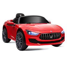 Amazoncom Costzon Ride On Car Licensed Maserati 12V Rechargeable