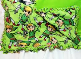 Zelda Triforce Lamp Uk by Zelda Fleece Fabric Made Into A Braided Blanket Soft Bedding Made