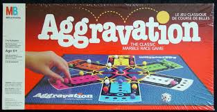 Aggravation By Milton Bradley