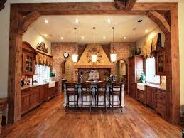 Rustic Country Dining Room Ideas by Unique Wall Decor Classic Stools Rustic Country Kitchen Lighting