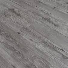 Grey Glossy Laminate Wood Flooring