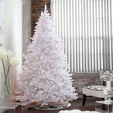 This Pre Lit Christmas Tree Feature An Abundance Of Lush White Foliage Becoming Unique Backdrop For Your