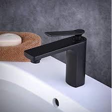 beelee malerei schwarz wasserhahn einhandmischer waschtischarmatur bad waschbecken mischbatterie badarmatur für bad badezimmer