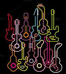 Best 25 Guitar Vector Ideas On Pinterest