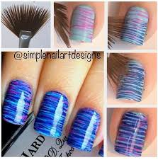 Fan Brush Nail Art Ideas