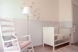 sticker chambre bébé fille papillon stickers chambre bébé fille pas cher pour idées décoration