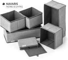 navaris aufbewahrungsboxen organizer ordnungssystem