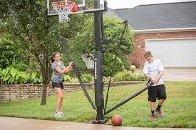 Amazon.com : Silverback Basketball Yard Guard : Sports & Outdoors Backyard Basketball Court Utah Lighting For Photo On Amusing Ball Going Through Basket Hoop In Backyard Amateur Sketball Tennis Multi Use Courts L Dhayes Dream Half Goal Installation Expert Service Blog Dream Court Goals Atlanta Metro Area Picture Fixed On Brick Wall A Stock Dimeions Home Hoops Gallery Sport The Pinterest Platinum System Belongs The Portable Archives Bestoutdoorbasketball Amazoncom Lifetime 1221 Pro Height Adjustable