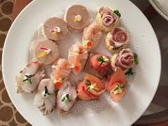 pronunciation of canapes canapes definition and meaning