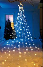 Outdoor Tree Topper Homey Ideas Yard Trees For Creative Front Lighted Led Outside Large Christmas Toppers