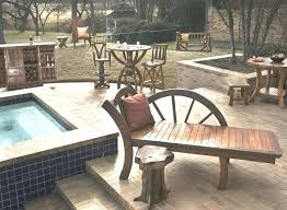 Western Style Outdoor Furniture Innovative Best Ideas About Rustic Chaise Lounges On
