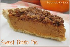 Pumpkin Pie With Pecan Praline Topping by Sweet Potato Pie Portlandia Pie Lady