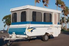 1998 Goldstream Goldcrown Wind Up Camper Trailer