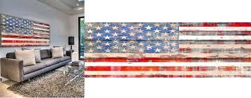 American Flag Home Decor Terior Designg Rustic