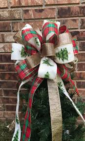 Christmas Tree Toppers Etsy by The 25 Best Christmas Tree Bows Ideas On Pinterest Ribbon On