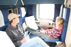 more about the accommodations on amtrak eureka family