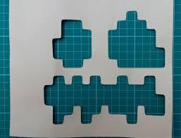 Minecraft Pumpkin Template Free by Minecraft Jack O Lantern Pumpkin With Pixel Art
