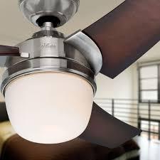 eurus brushed nickel ceiling fan 137cm 54