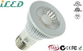 7w e27 cob recessed narrow par20 led bulb dimmable etl cetl