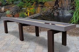Outdoor Shuffleboard Tables