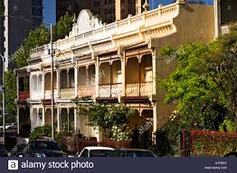 100 Victorian Period Architecture Australia Melbourne Facade Detail Of Period Terrace